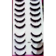 HELLO KITTY EYELASH KT18 (10PAIRS PER BOX)